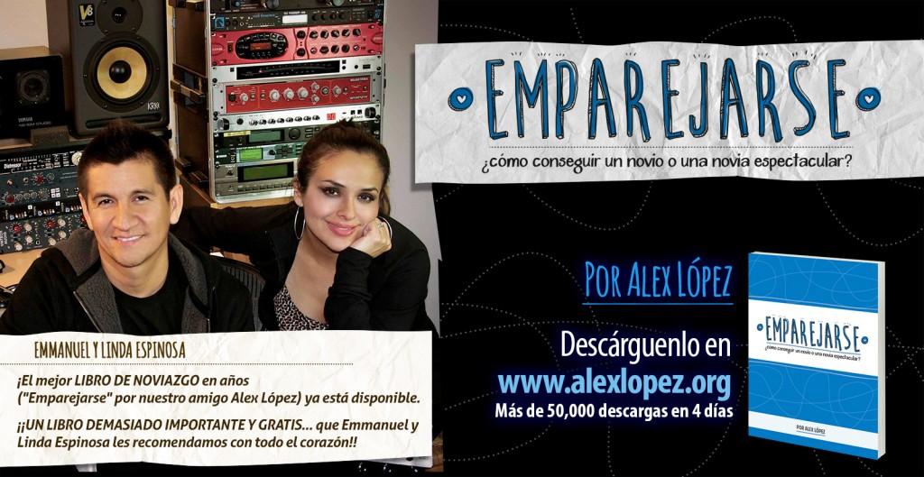 Emmanuel Espinosa 50,000 descargas del LibroEmparejarse del Pastor Alex López