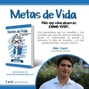 Metas de Vida recomendación de Julio López
