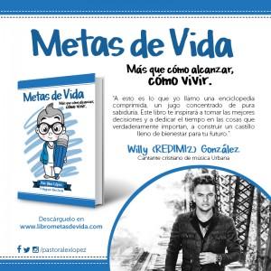 Metas de Vida recomendación de Willy González Redimi2