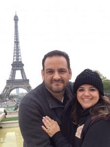 Chofo y Debbie Mendoza